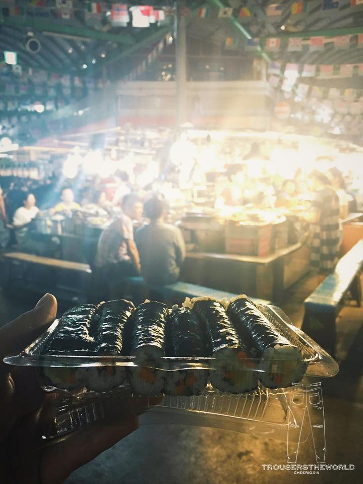 廣藏市場 麻藥紫菜飯卷