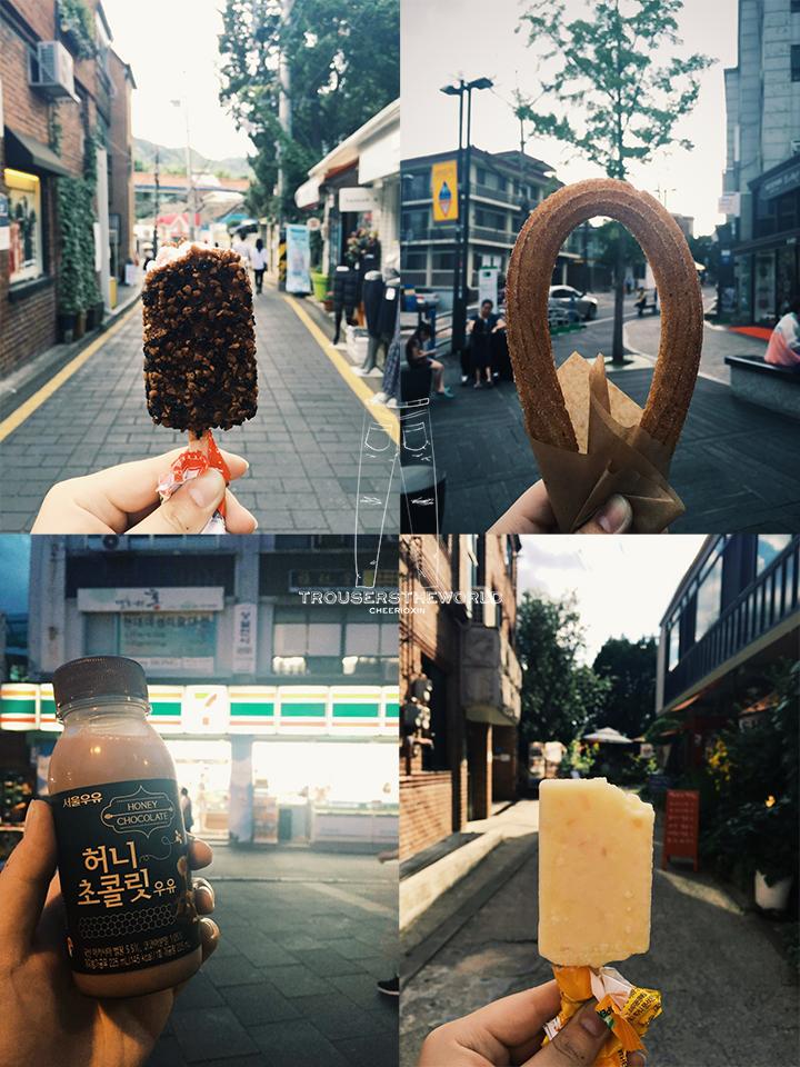 韓國街頭小吃