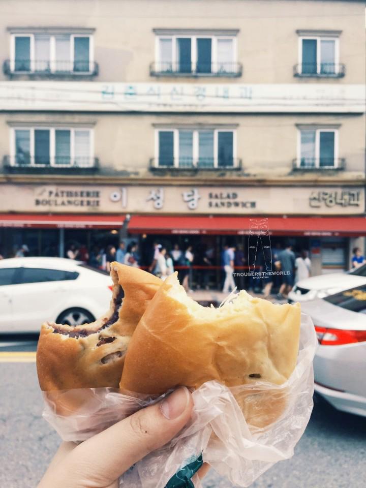 群山 李聖堂麵包店 Gunsan LeeSungDang Bakery