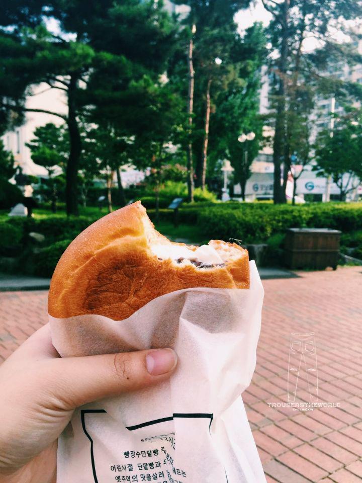 大邱 起爆漿奶油麵包店 Daegu Creamy Burst Bakery 대구 起 빵장수단팥빵집