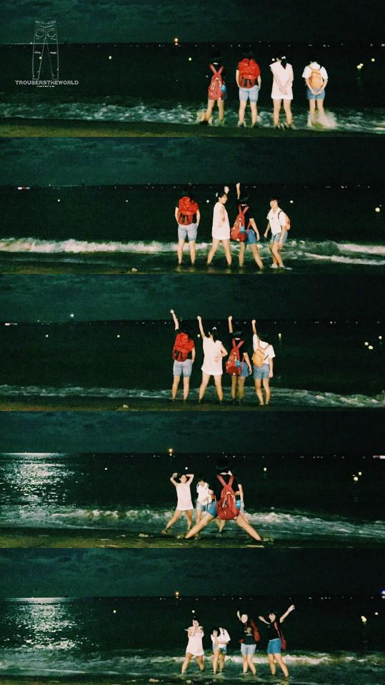 釜山 海雲台부산 해운대 Busan Haeundae Beach