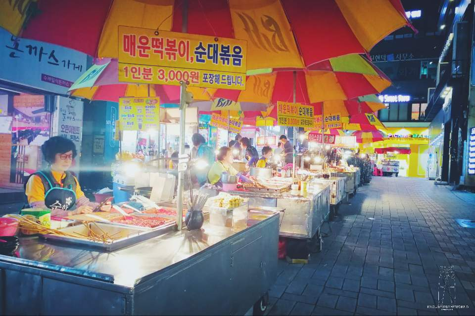 釜山 BIFF廣場 夜市 Busan BIFF Square Night Market