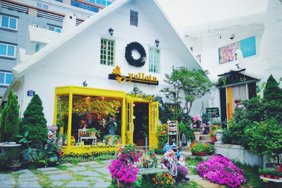 釜山 Yelloin Flower 花店 Busan Yelloin Florist Shop
