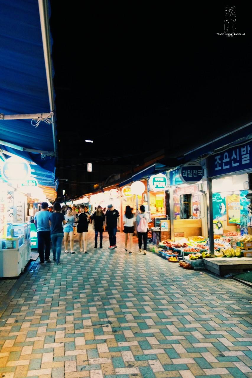 부산 해운대 전통시장 釜山 海雲台傳統市場 Haeundae Traditional Market